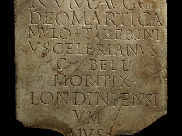 Londinium plaque at The Museum of London
