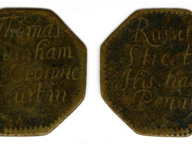 London tokens at The British Museum
