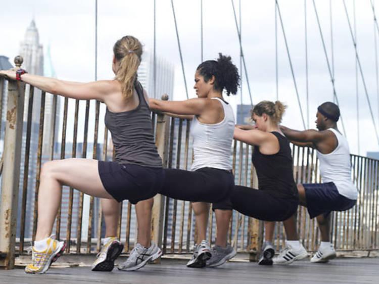 Break a sweat with Brooklyn Bridge Boot Camp