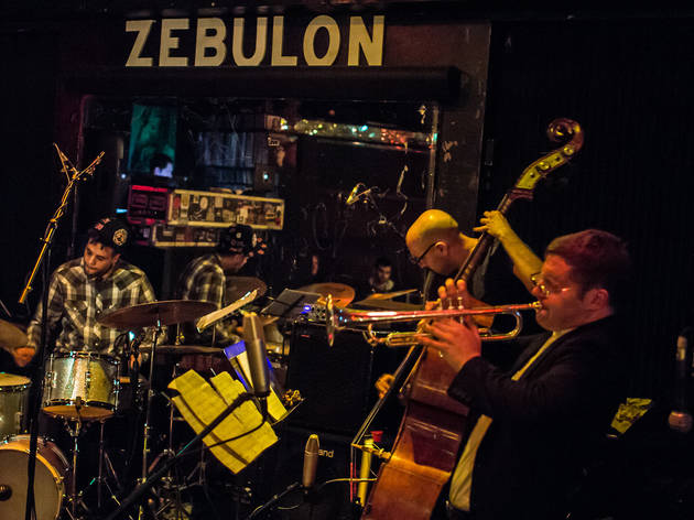 Peter Evans Zebulon Trio