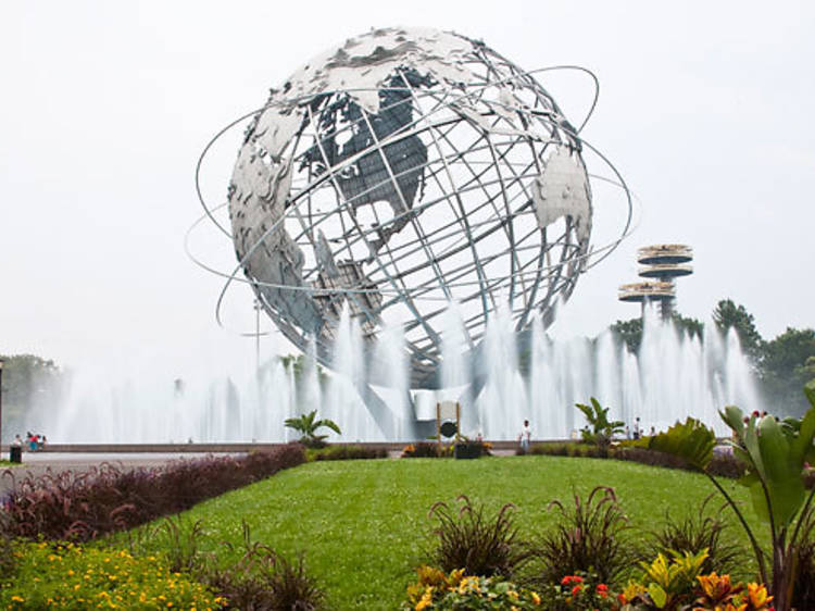 Appreciate the landmark Unisphere