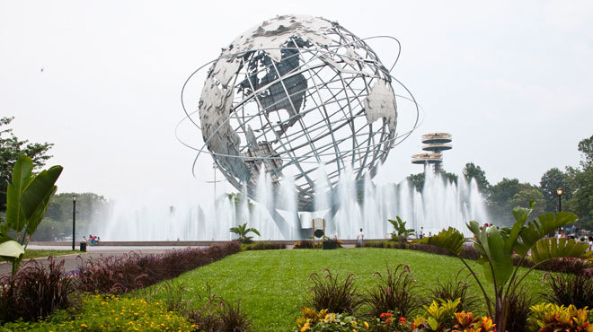 Appreciate the landmark Unisphere