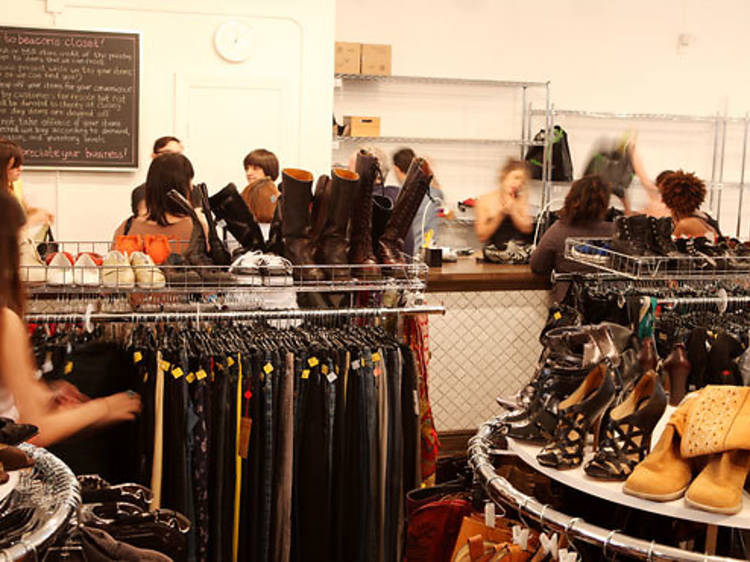 Shop for new clothes at Beacon's Closet and the Brooklyn Circus