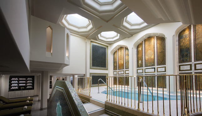 <p>Mineral pool at Spa Montage</p>