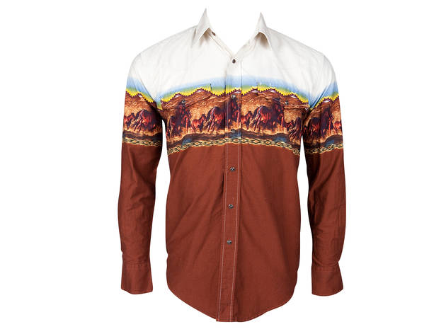 Roper desert-print shirt, $24, at Reminiscence
