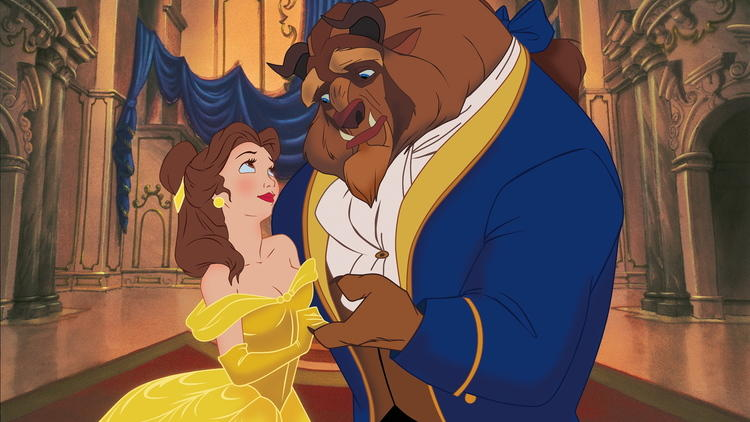 Beauty and the Beast, Disney, love and romance
