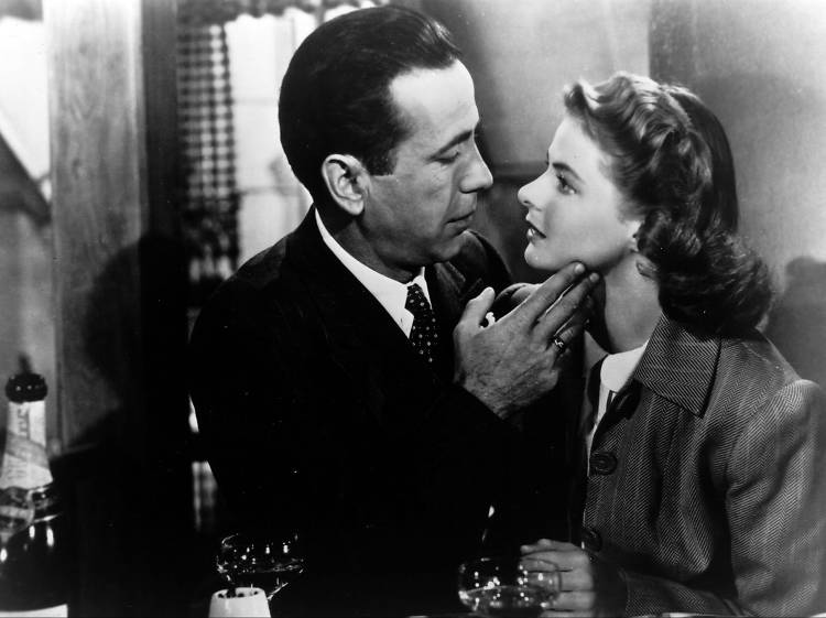 Cry into a bucket of popcorn at the Aero during 'Casablanca'