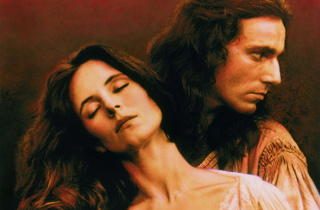 Romantic film: Last of the Mohicans