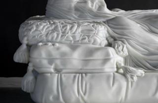 ('Gisant (Hommage à C.E. Crosby)', 2012 / Courtesy de la galerie Daniel Templon)