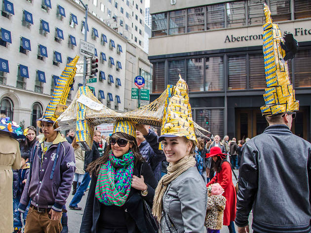 Easter in nyc guide including easter events and brunch deals easter parade and bonnet festival in nyc guide negle Image collections