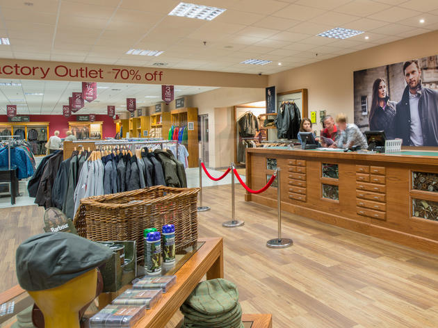 Barbour factory outlet