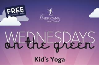 Kids Yoga on The Green