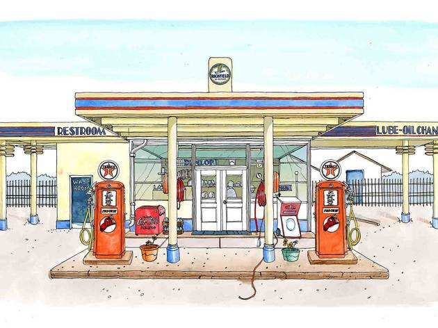 'Gas Station' (© Emma Kelly, represented by Handsome Frank)