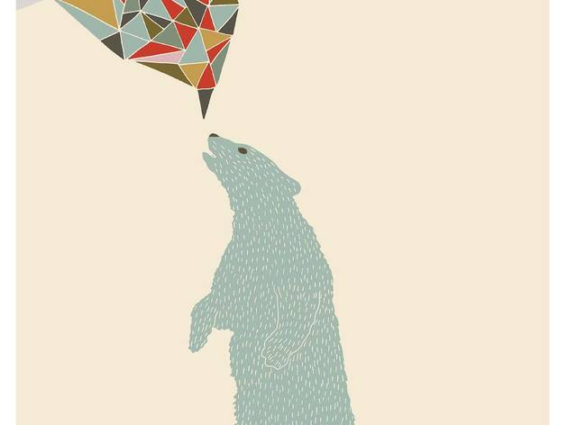 'Un Ours' (© Hello Marine, member of the Unlimited Editions collective)