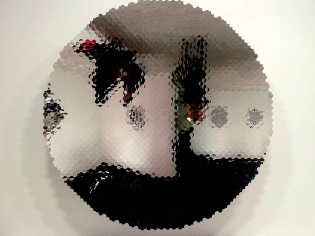 (Anish Kapoor, 'Islamic Mirror', 2008 / © Photo : TB - Time Out)