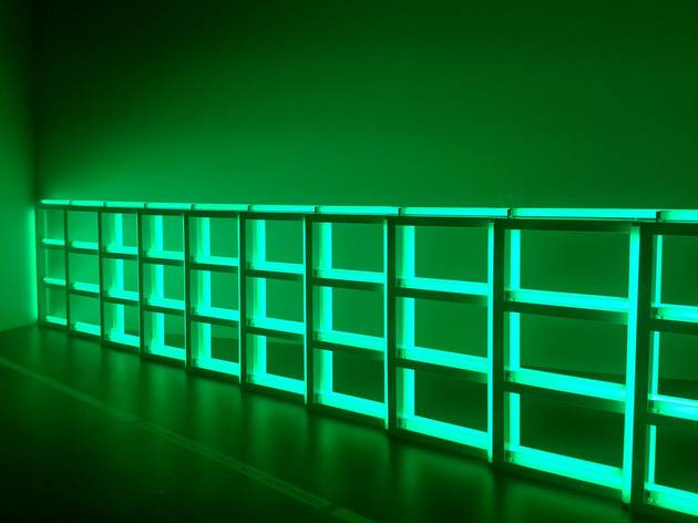 (Dan Flavin, 'Untitled (to you Heiner, with Admiration and Affection)', 1973 / © Photo : TB - Time Out)