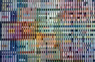 (Yaacov Agam, 'Double métamorphose III' (détail), 1968-1969 / © Photo : TB - Time Out)