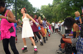 Central Park Skate Circle