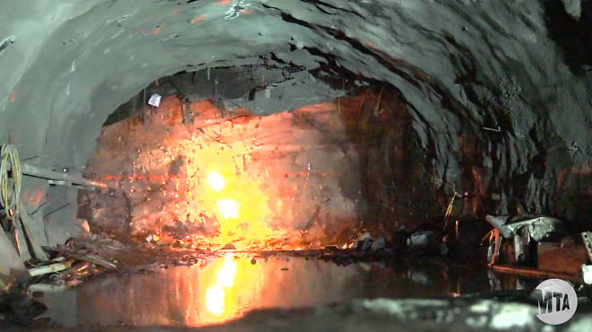 East Side Access project excavation