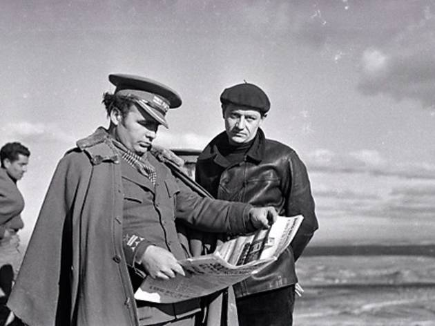 (Robert Capa, 'Le général Enrique Líster et André Malraux', front catalan, 1938–1939 / © International Center of Photography / Magnum Photos)
