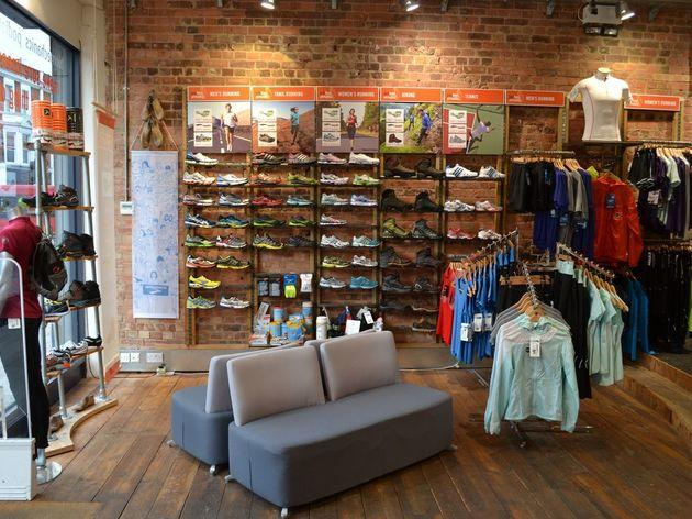 Profeet running stores