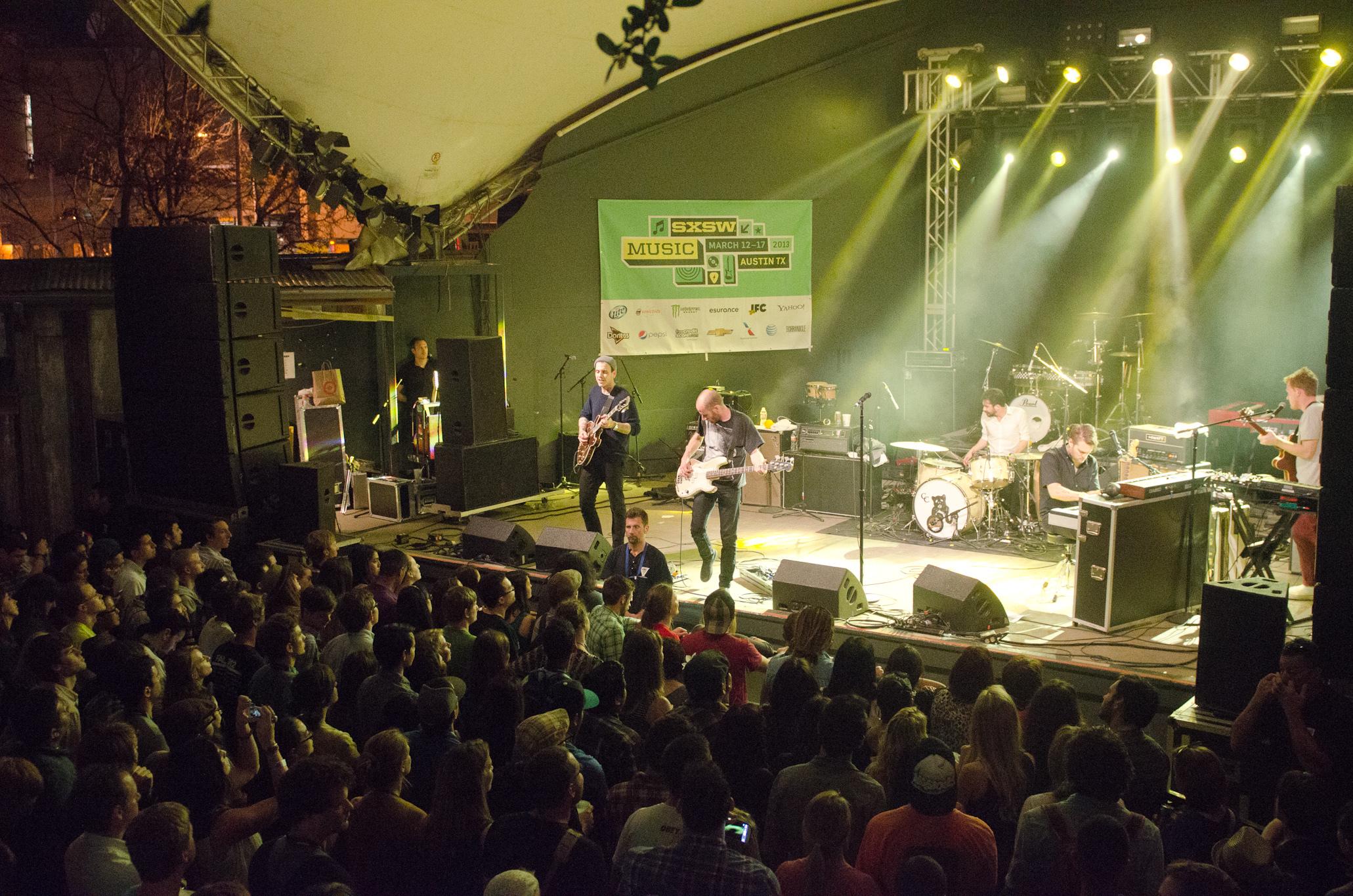 Cold War Kids at SXSW Music Festival 2013