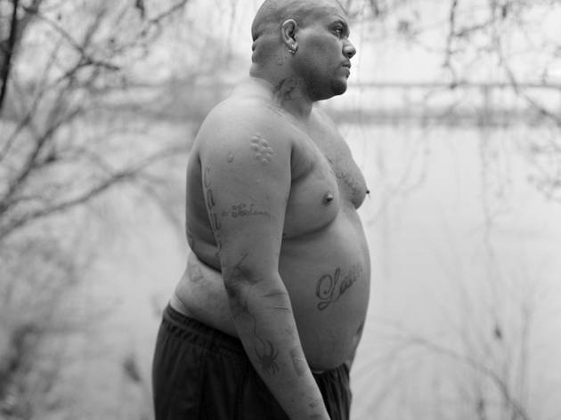('James on the bank of the James River', Richmond, Virginie, 23 mars 2012 / © Vanessa Winship/Vu)