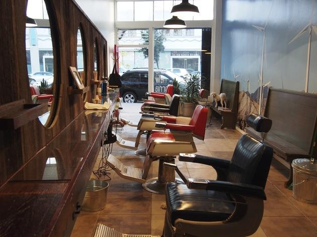 The New California Barbershop
