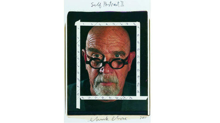 Photograph: © 2013 Chuck Close courtesy Pace Gallery