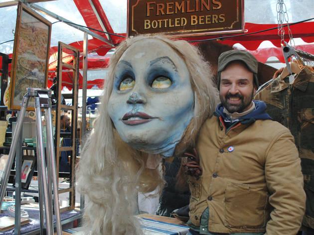Spitalfields Thursday Antique and Vintage Market