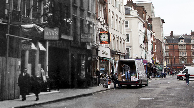 Soho, then and now in pictures