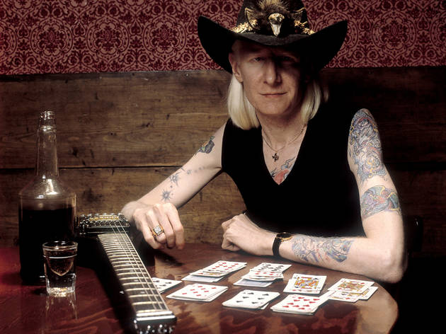 24th Guitar Festival BCN: Johnny Winter
