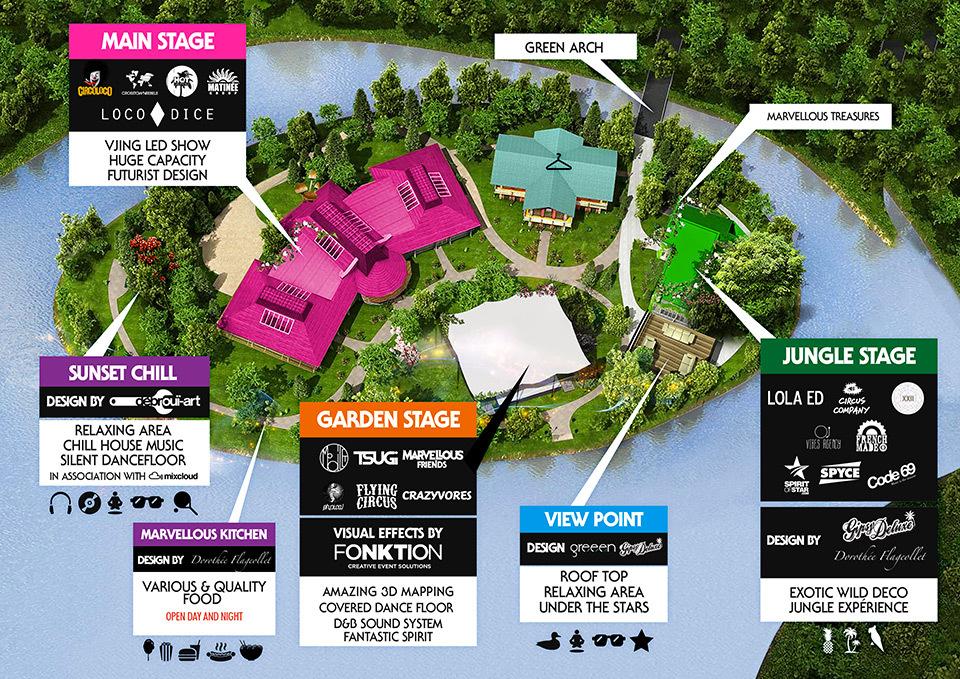 Concerts • Marvellous Island Festival