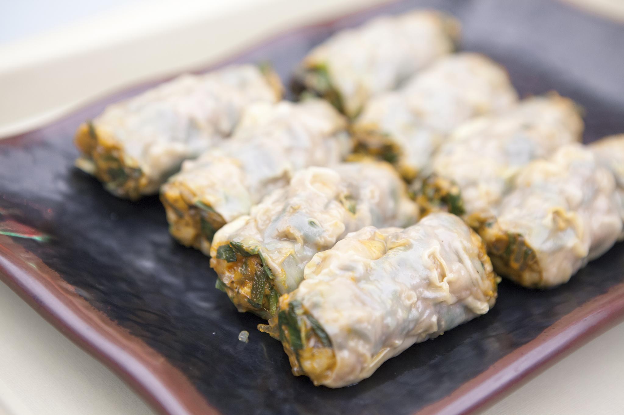 Shrimp dumplings at Pao Jao Dumpings