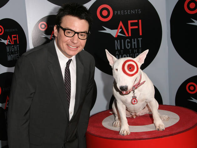 Mike Myers and the Target dog.
