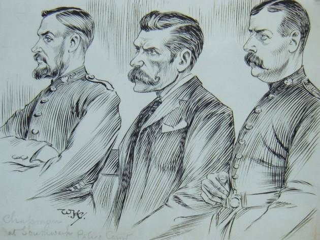 Faces in Court 1893-1918: Drawings of William Hartley from New Scotland Yard's C