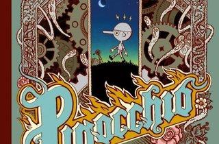 (Couverture de 'Pinocchio', 2008 / Editions Les Requins Marteaux, Albi / © Winshluss)