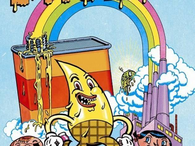 (Winshluss en collaboration avec Cizo, affiche du film d'animation 'Il était une fois l'huile', 2012 / © Winshluss)