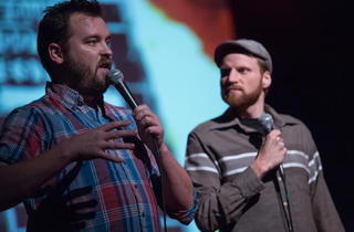 Joe Pickett and Nick Prueher of Found Footage Festival