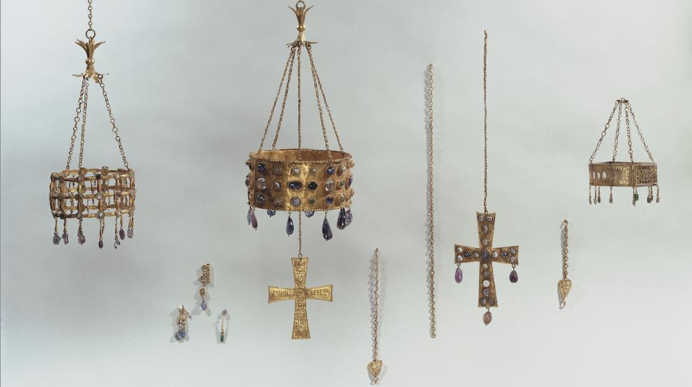 'Le Trésor de Guarrazar', musée de Cluny