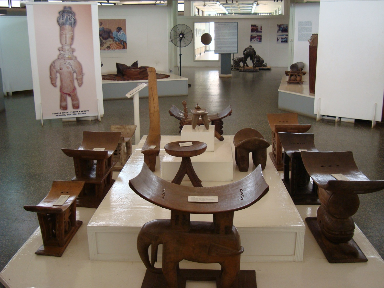 Learn about Ghana's history at the National Museum of Ghana