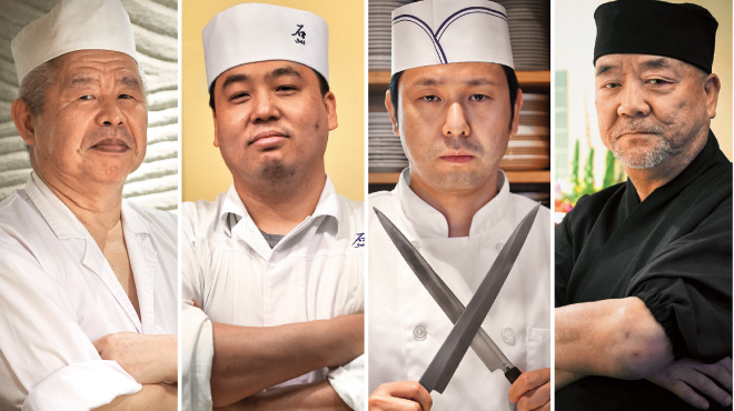 New York City's top sushi chefs