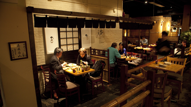 Hidden Japanese restaurants