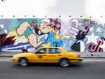 Bowery Graffiti Wall, mural by Crash One