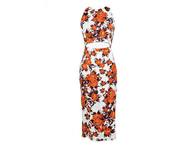 Suno floral dress, $696, at Free and the Brave