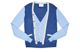 Private Stock two-in-one cardigan, $398