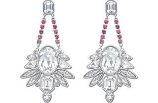 Swarovski chandelier earrings, $150