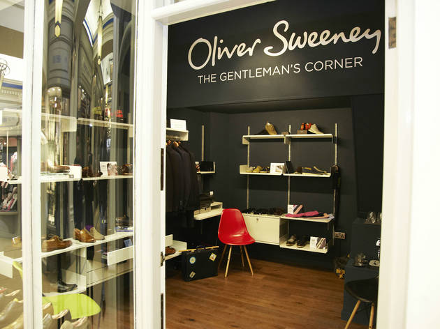 Oliver Sweeney's 'The Gentlemen's Corner'