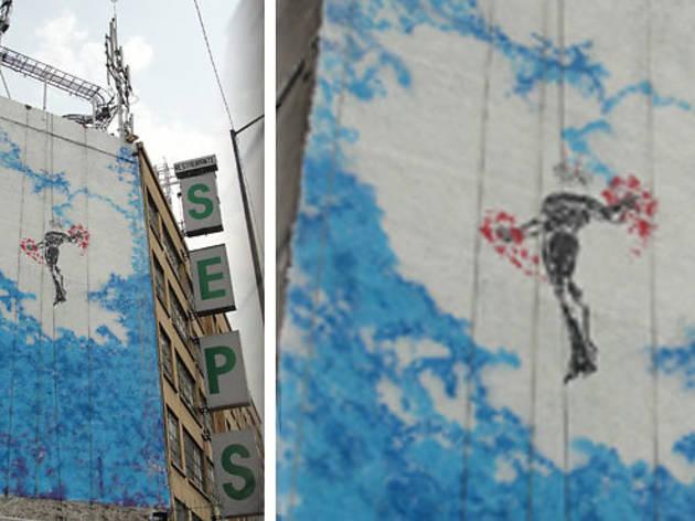 Nuevo mural de Futura en el DF (Cortesía All City Canvas)