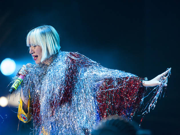 Yeah Yeah Yeahs at Coachella 2013, Weekend 2, Day 1